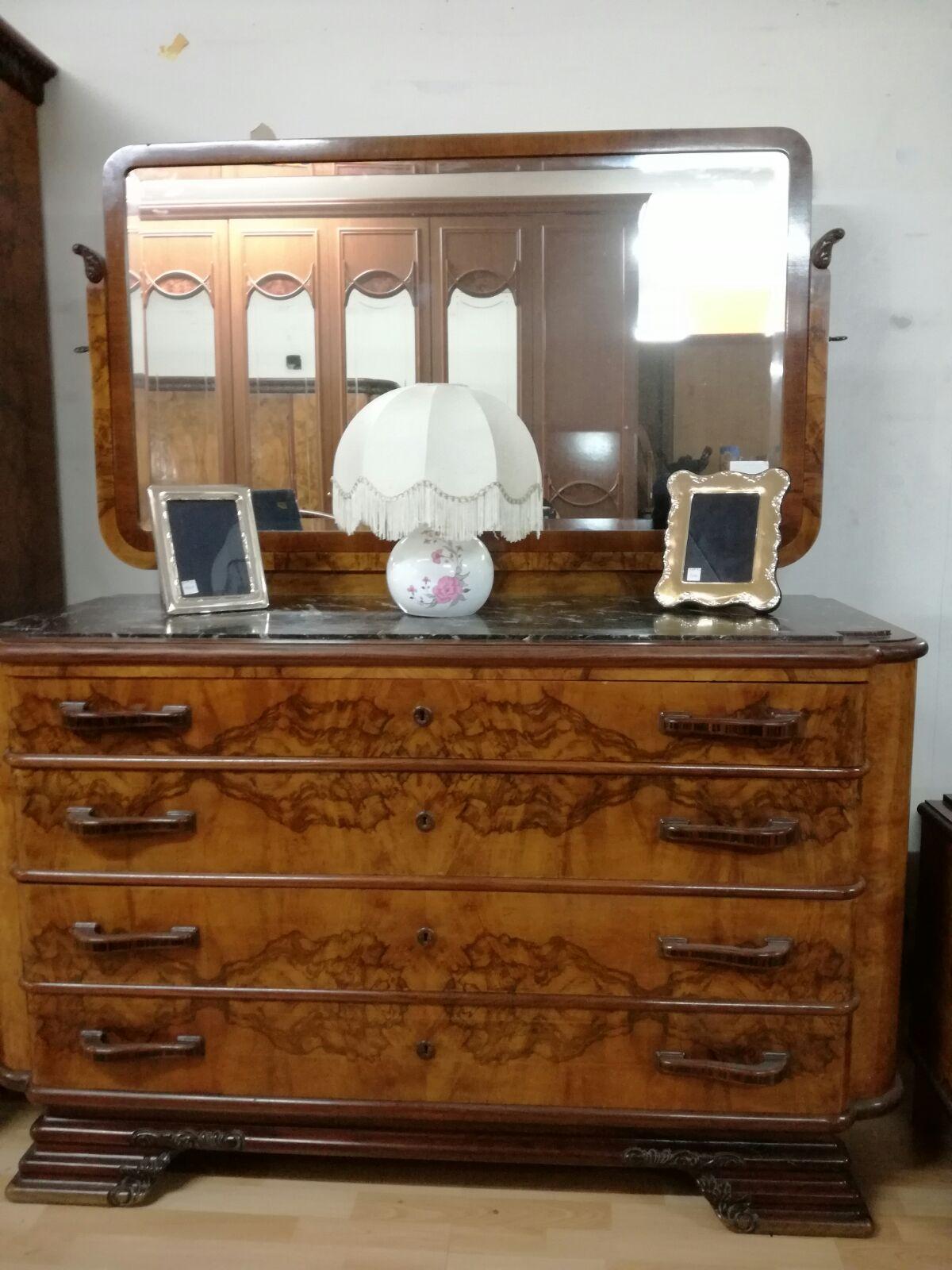 Camera da letto completa Anni 40-50 - Mimmo Professionista dell\'Usato